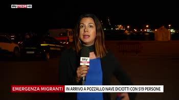 Migranti, verso Pozzallo nave Diciotti con 519 persone