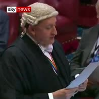 'Amendments' tongue-twister in the Lords
