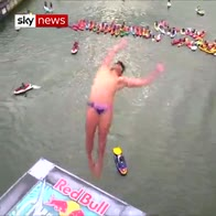 Cliff Diving World Series - best dives