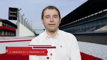 Mauro Sanchini, l'allenamento del pilota