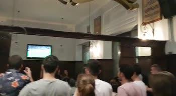 festa tifosi inglesi