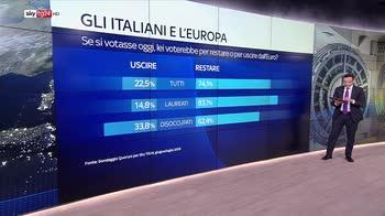 3 italiani su 4 non vogliono uscire dall'euro. Skywall