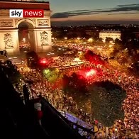 Paris reacts to World Cup final place