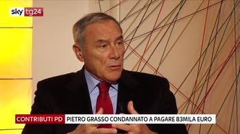 Contributi Pd, Grasso condannato a pagare 83mila euro