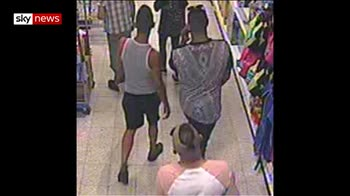 Manhunt after boy, 3, hurt in acid attack