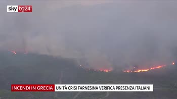 Incendi in Grecia, nessun italiano è irreperibile