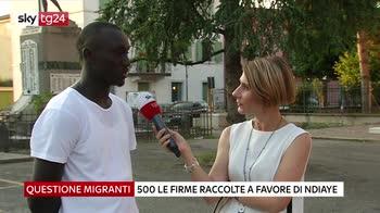 Castelbelforte si mobilita contro espulsione migrante