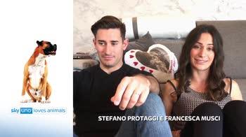 Sky Uno Loves Animals 2: Francesca Musci e Stefano Protaggi