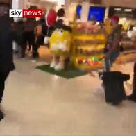 French rappers brawl in French airport