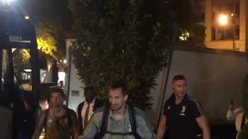 """ICC, Chiellini a Cosatti: """"Ti ha invitato Trump?"""""""