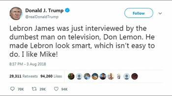 SRV Trump Lebron James