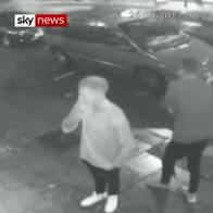 CCTV shows Ben Stokes outside nightclub