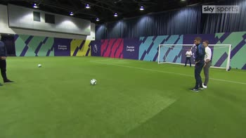 Neville v Carragher at penalties