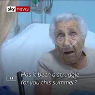 Hot summer a problem for NHS patients