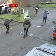Deadly model attack caught on CCTV