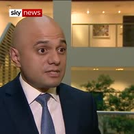 Extremists 'cannot divide us' - Javid