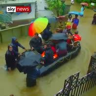 Worst flood in a century kills 67