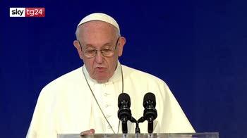 ERROR! Papa Francesco, migranti, no alle politiche a breve termine