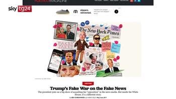 """Trump attacca Google: """"Su di me solo notizie false"""""""