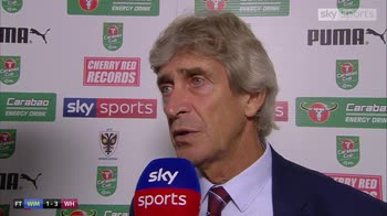 Pellegrini gets first Hammers victory