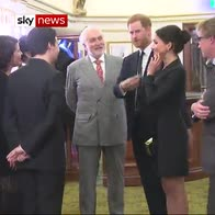 Harry and Meghan watch Hamilton; meet creator