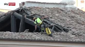 ERROR! Crollo chiesa San Giuseppe dei Falegnami a Roma. Indaga la procura