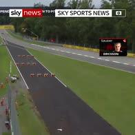 220mph horror crash involving Marcus Ericsson