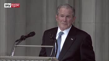 ERROR! Bush: McCain detestava gli abusti di potere