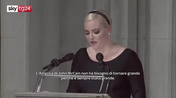 ERROR! Addio a McCain, la figlia Meghan contro Trump: l'America per mio padre era già grande