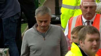 Mourinho grateful for away support