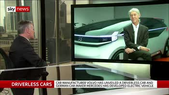 Volvo trials 'domestic air travel on wheels'
