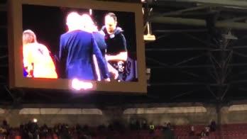 Olanda, il tributo dell'Amsterdam Arena per Sneijder
