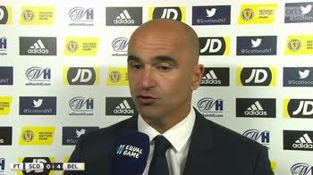 Martinez proud of team attitude