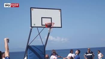Milazzo, sport senza barriere. In carrozzina anche i professionisti del basket