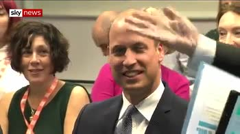 Prince William launches well-being site