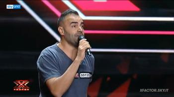 Davide Celiento a X Factor per Laura Pausini