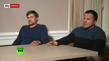 Extended interview with Novichok suspects