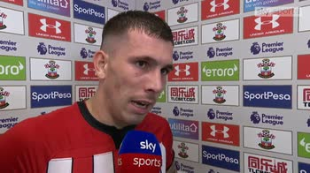 Hojbjerg left very frustrated