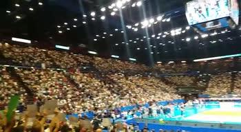 Mondiali-Volley, Italia-Russia, l'entusiasmo del Forum