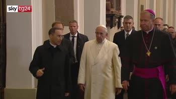 ERROR! Papa in Lituania, firmato accordo tra Santa Sede e Cina