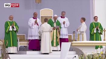 ERROR! Centomila persone per il secondo giorno del papa in Lituania