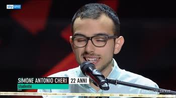 """""""L'artista"""", l'inedito di Simone Cheri a X Factor 2018"""