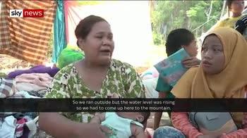 Tsunami survivors tell heartbreaking stories