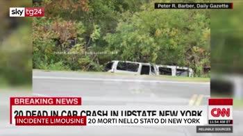 incidente limousine new yokr