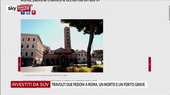 Roma, pedone investito e ucciso in centro