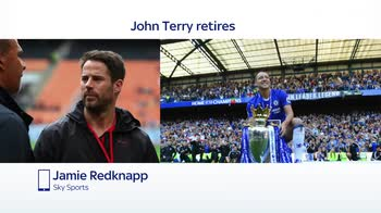 Redknapp pays tribute to 'amazing' Terry
