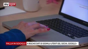 Google, a rischio dati di 500mila utenti