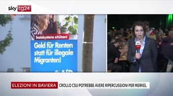 Baviera, crollo csu, possibili conseguenze per Merkel