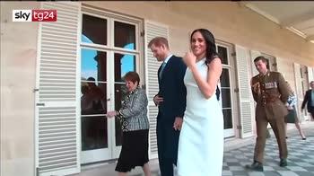 Royal Baby in arrivo, Le prime immagini del pancino di Meghan Markle