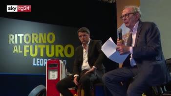 Leopolda 9, Renzi e Padoan criticano il governo